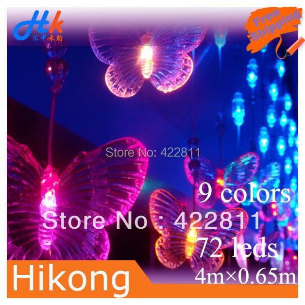 Aliexpress.com : Buy 4m * 0.65m 72 LED Bead Curtain Light ...