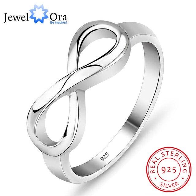 Chính hãng 925 Thương Hiệu Nhẫn Đối Với Phụ Nữ Knot Nhẫn Sterling Silver  Bạc S925