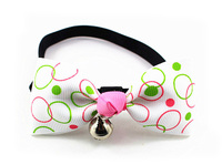 10pcs dogs cats fashion bowknot colar doggy lovely festival bowties puppy necklace supplies pets products Multicolor