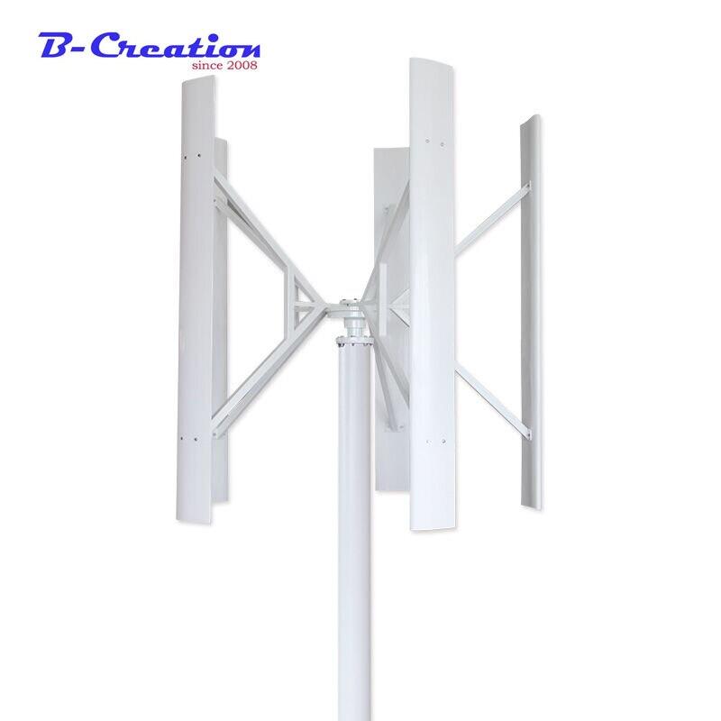 42562c875ec Generador de viento de la turbina de viento vertical 300 W con imán  permanente generador combinar. € 280