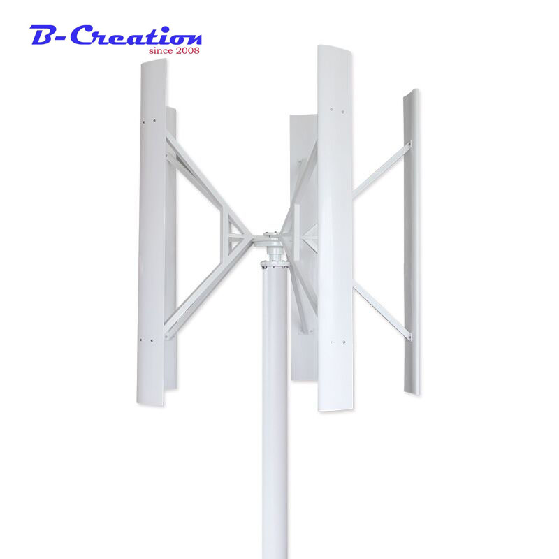 Wind generator VAWT 300W 12/24V Light and Portable wind turbine / 300W enough power Vertical Axis Wind Turbine Generator wind generator 300w 12v 24v vertical axis wind turbine with 300w wind charge controller and 1000w inverter