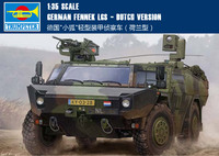 Trumpet 05533 1:35 Holland Fox light wheeled armored reconnaissance vehicle Assembly model