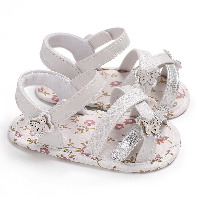 Newborn Kids Baby Girl Summer Soft Sole Crib Prewalker Toddler Anti-Slip Shoes 2018 Confortable for Daughter Walking
