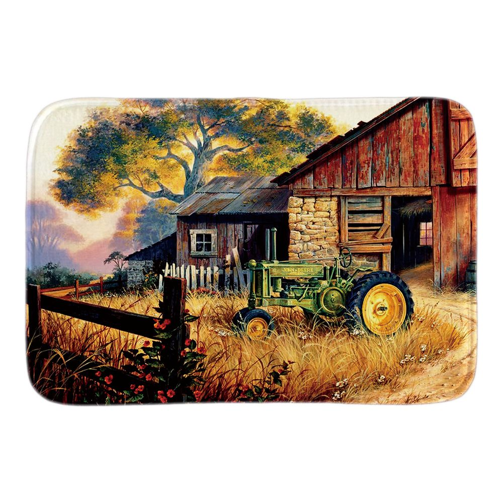 Home Decor Doormats Farm Landscapes Of United States Soft Lightness Indoor Soft Bathroom Door Mats Short Plush Floor Mats
