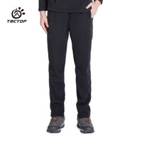 Tectop Autumn And Winter Thick Fleece Pants Sports Polar Fleece Fabric Windproof Keep Warm Thermal Plus
