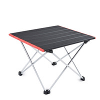 Ultra Light Aluminum Alloy Tables Spot Outdoor Camping Table Portable Foldable Tables Camping Self driving Table|Outdoor Tables| |  -