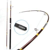 1.8m Heavy duty boat fishing rod super hard raft saltwater jigging glass trolling fishing pole rod test weight 20kg