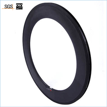 light bicycle carbon road rims review 88mm  700C race carbon Clincher wheels rim Road bike Rim 23mm Width Road Cycling
