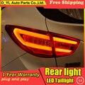 Estilo do carro Lâmpada de Cauda para Hyundai ix35 Luzes Da Cauda 2013-2015 Para ix35 LED DRL Da Lâmpada de Luz Traseira Da Cauda + freio + Parque + Sinal de Parada de luz