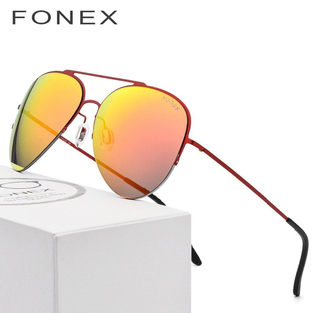 HOT Aviation Sunglasses Men Ultralight Brand Designer Nylon Lens New Rays Protection High Quality Sun Glasses for Women Titanium
