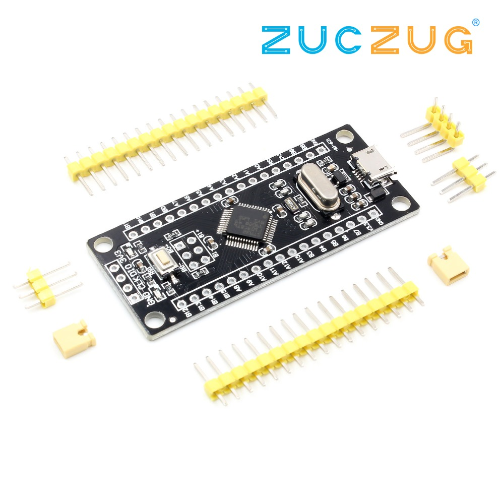 STM32F103C8T6 ARM STM32 Minimum System Development Board Module Micro USB Controller ARM Learning Board