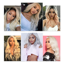 613 Lace Front Human Hair Wigs Pre Plucked Wig With Baby Hair Body Wave Virgin Hair Free Shipping