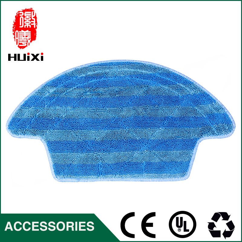 High Efficient Washable Microfiber Cleaning Cloth to Clean Floor for CEN540 CEN546 Robot Vacuum Cleaner Parts for Home 58427 bestwat aqua powercell vac cleaner for spas and ag p totally submersible body vacuum debris on pool spa floor clean water