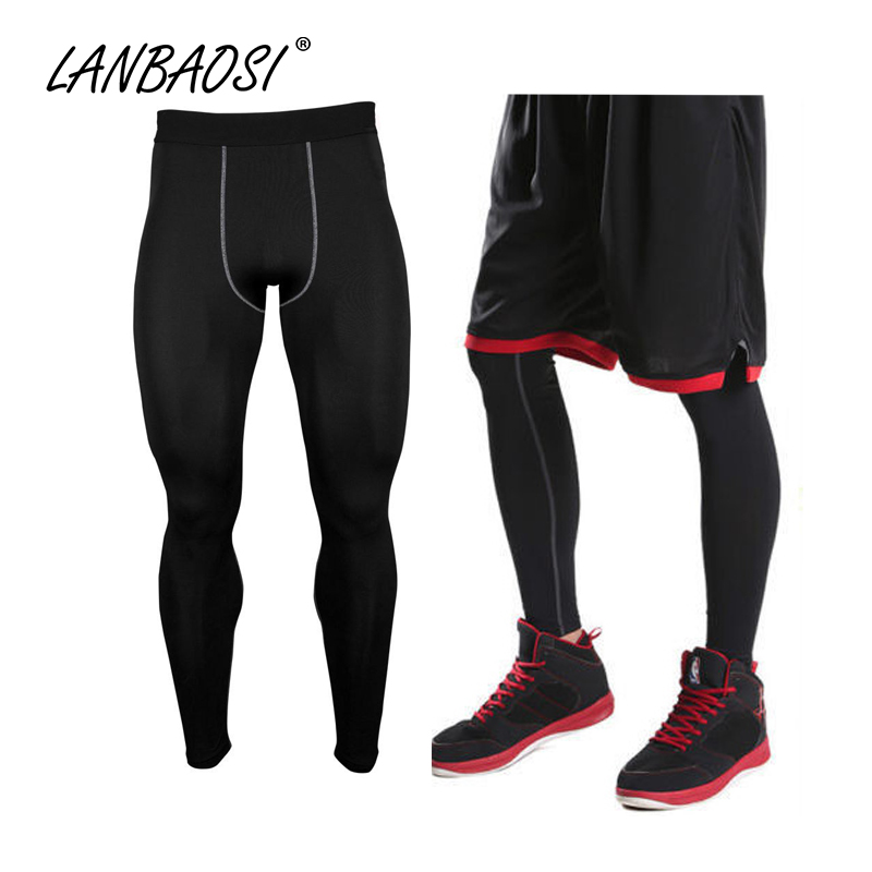 Good Quality Men's Compression Tights Pants Underwear Base Layer Quick Dry Breathable Leggings Pant Trousers