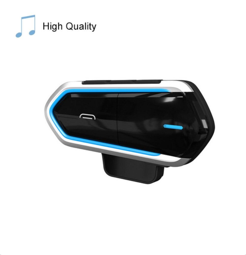 Helmet Headsets Motorcycle Wireless Bluetooth Headsets Riding Handsfree FM Radio Stereo MP3 Earphone Easy Operation Waterproof