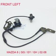 Передний левый ABS колеса Датчики скорости для Mazda 6(GG/GY/gh) универсал хэтчбек недвижимость 2002-2008 gj6a-43-73xa/B/C/D/E