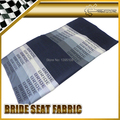 Car-styling Universal Fit For Any Drift Rally Racing Graduation Black Color Bride Seat Fabric Cover GTS GTR RX7