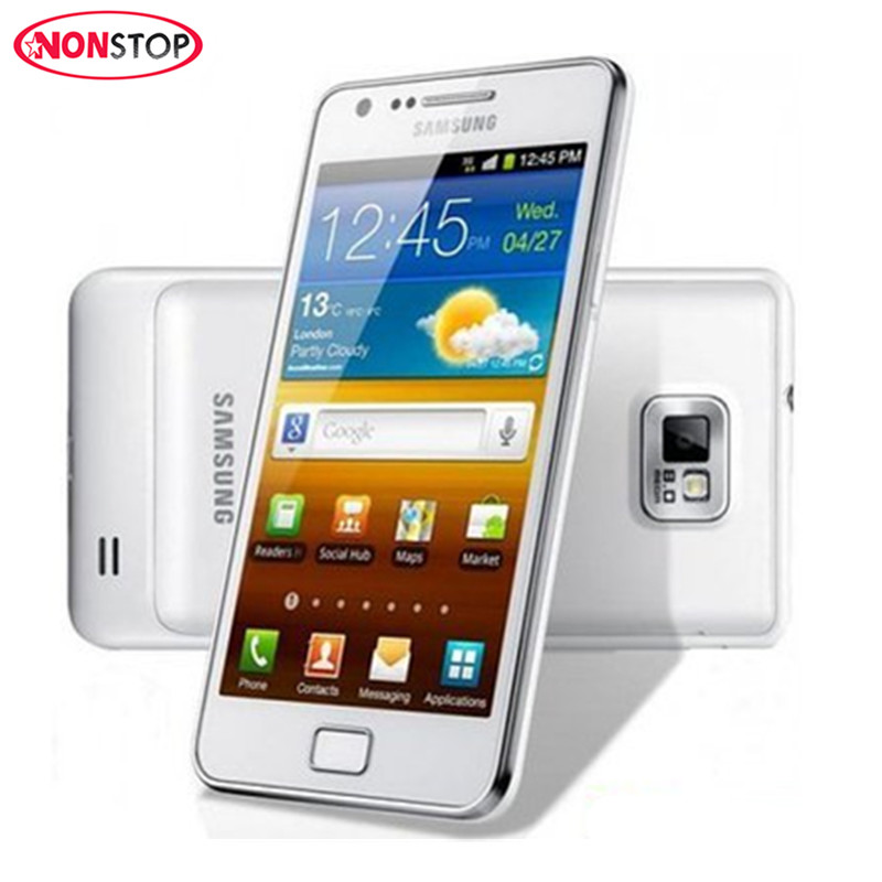Samsung Galaxy Ii Unlocked S2 I9100 16GB WCDMA Bluetooth Dual Core 8MP Refurbished Cell-Phone