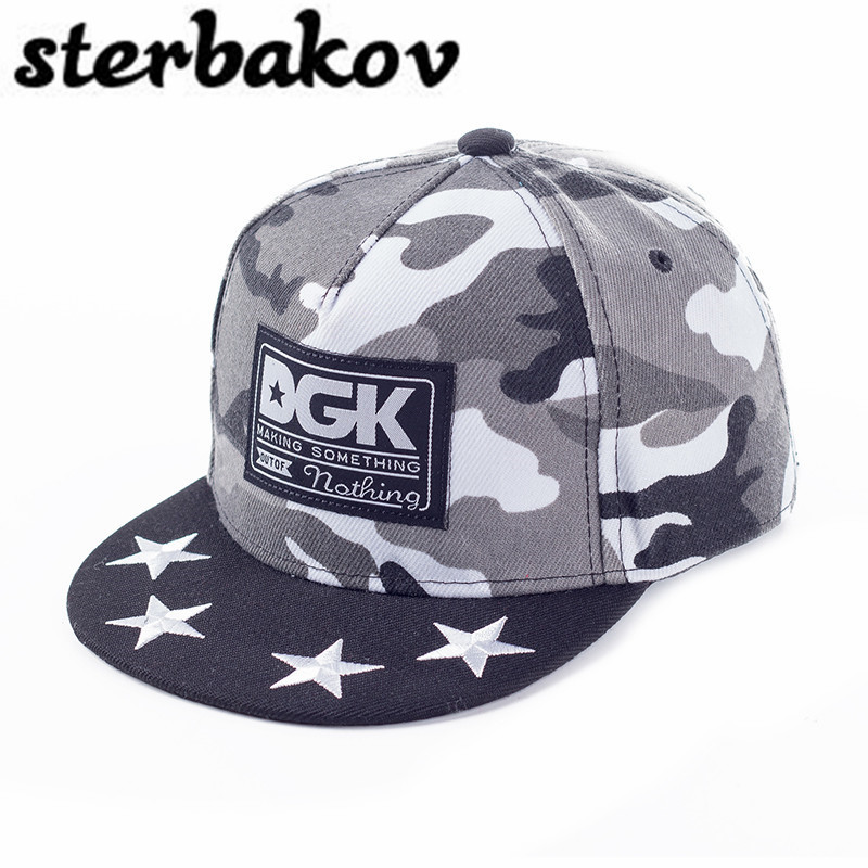 Brand sterbakov child child snapback hat baseball cap dgk hat male and female hip hop cap a new set of head cap cotton scarf dual purpose male and female geometric pattern of baotou hat