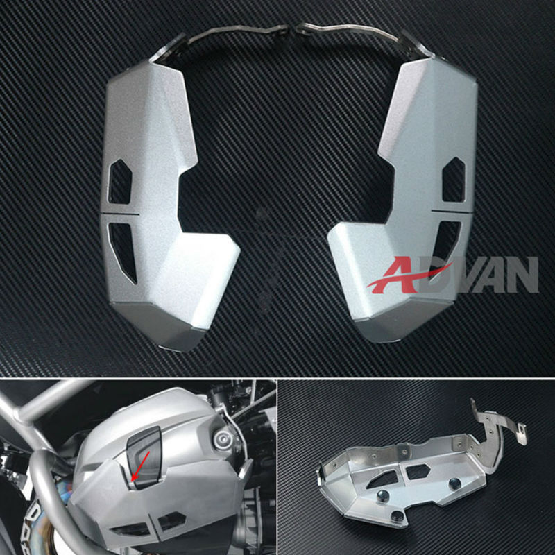 Cylinder Head Guards Protector Cover For BMW R1200GS ADV RT 2010-2013
