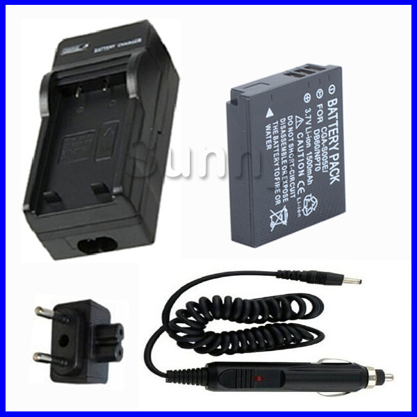 Schnell-Ladegerät mit Micro USB Plug fuer PANASONIC Lumix DMC-FX3 DMC-FX8