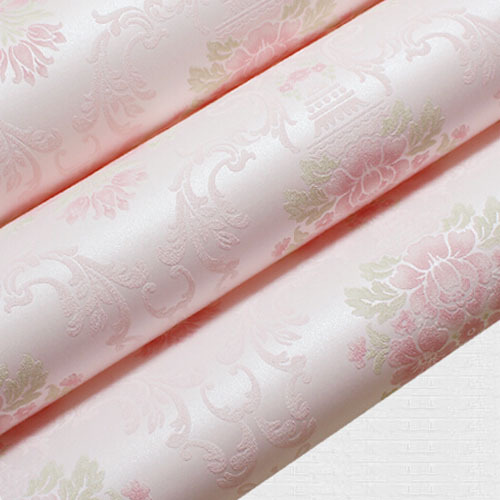 Floral Wallpaper Bedroom Pink Rustic Damask Wall Paper Textured Roll 10m papel de parede para Sala Purple Beige woodcraft 12