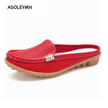 2018 New Women's Real Leather Moccasins New Mother Moccasins Soft Women's Leisure Apartments Ladies Ballet Driving Casual Shoes moccasins malatesta moccasins href