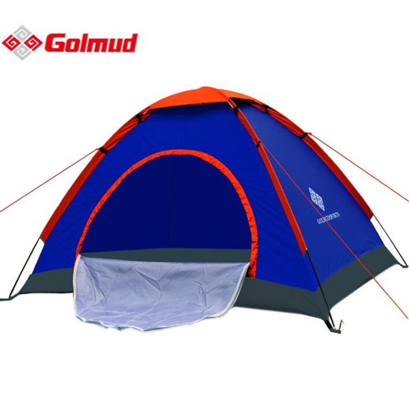 Golmud One Person Tent Outdoor Camping Tent Kit Fiberglass Pole Water Resistance With Carry Bag For Hiking Traveling S221 two person tent outdoor camping tent kit fiberglass pole water resistance with carry bag for hiking traveling 200x120x110cm