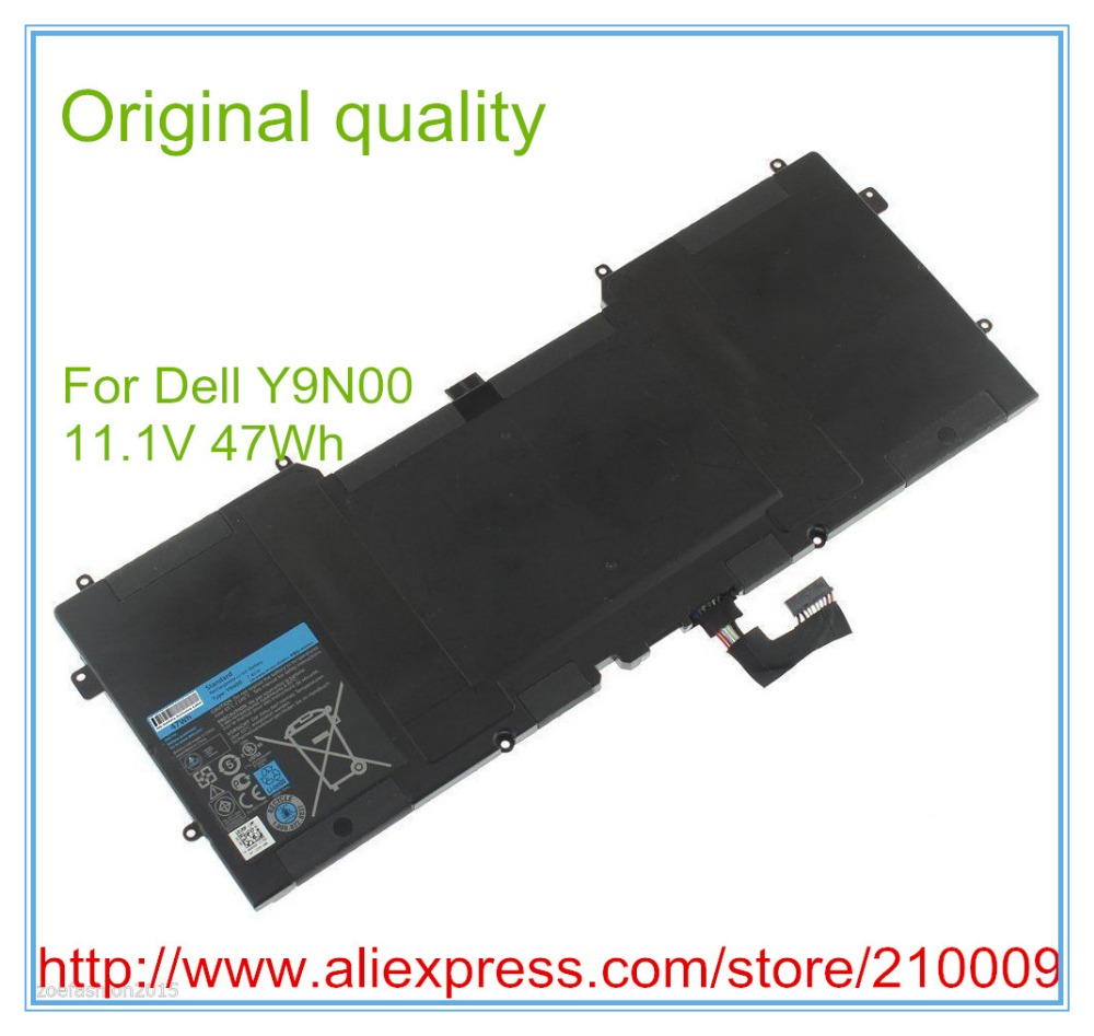 47Wh Original Quality New Laptop Battery For XPS 12 XPS13- L321X XPS13-L322X L321X C4K9V 3H76R Y9N00 489XN Free Shipping lmdtk new 12 cells laptop battery for dell latitude e5400 e5500 e5410 e5510 km668 km742 km752 km760 free shipping