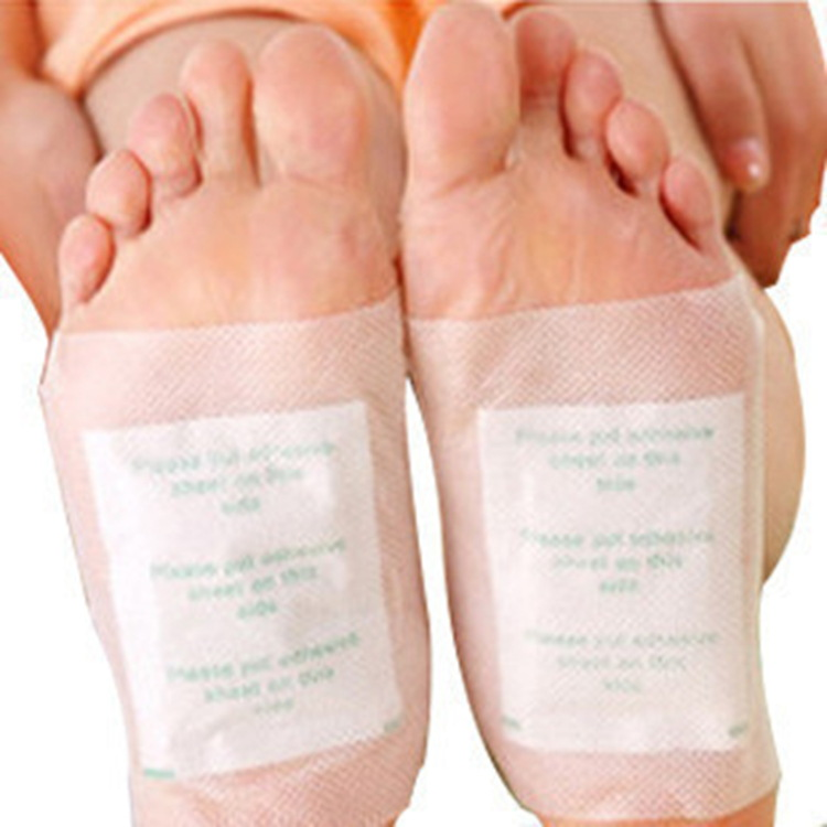 100Pcs beauty slimming foot patch Relieve Fatigue& Remove