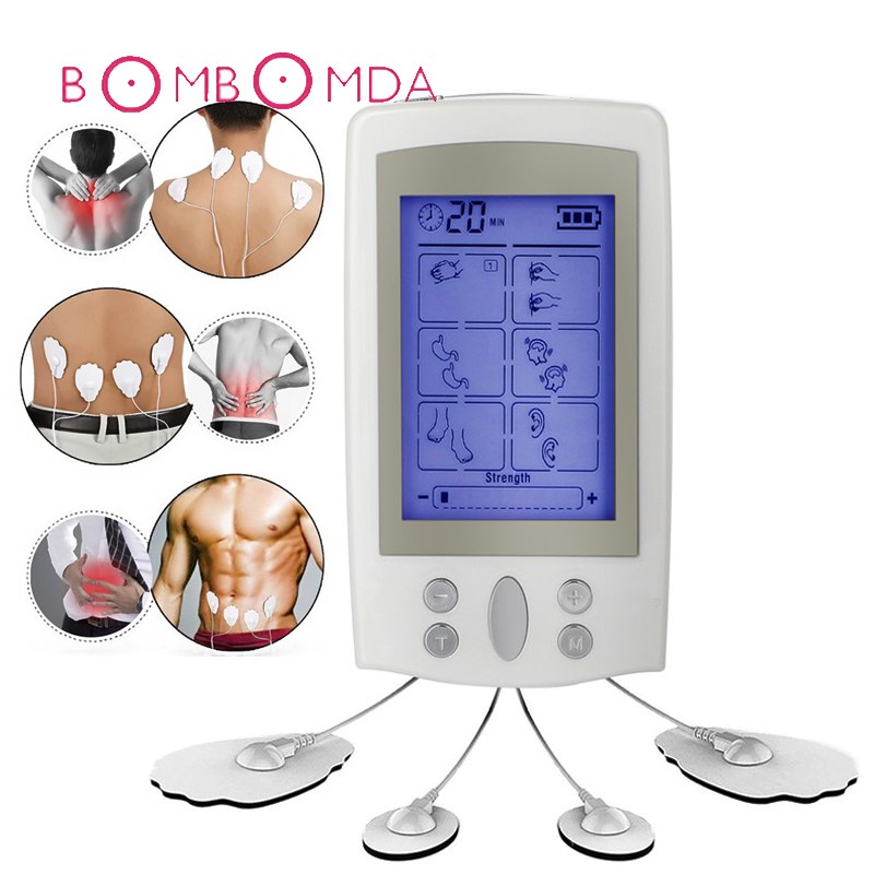 16 Modes Body Massager Vibrator Digital Massager Electronic Stimulator Acupuncture Physical Therapy Smart EMS Electronic Product