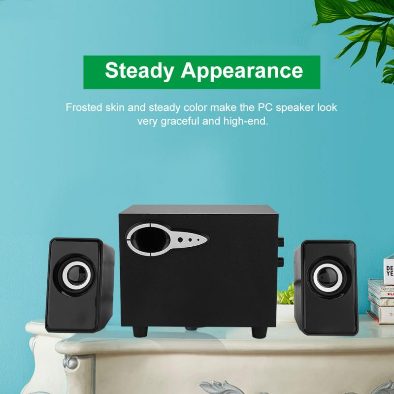 Computer-Speakers Super-Clear Crystal-Sound Mini with Crisp