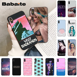 Babaite Badlands Halsey Colorful Cute Phone Accessories Case for iPhone X XS MAX 6 6S 7 7plus 8 8Plus 5 5S XR 11 11pro 11promax(China)