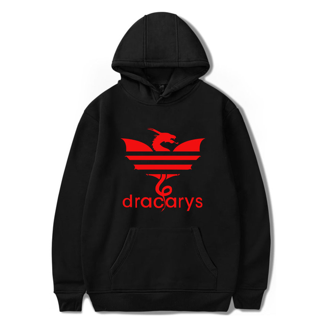 """Dracarys"" Comfortable Hoodies  4"