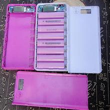 Bank power dual мобильного plus коробка батареи телефона зарядное устройство чехол
