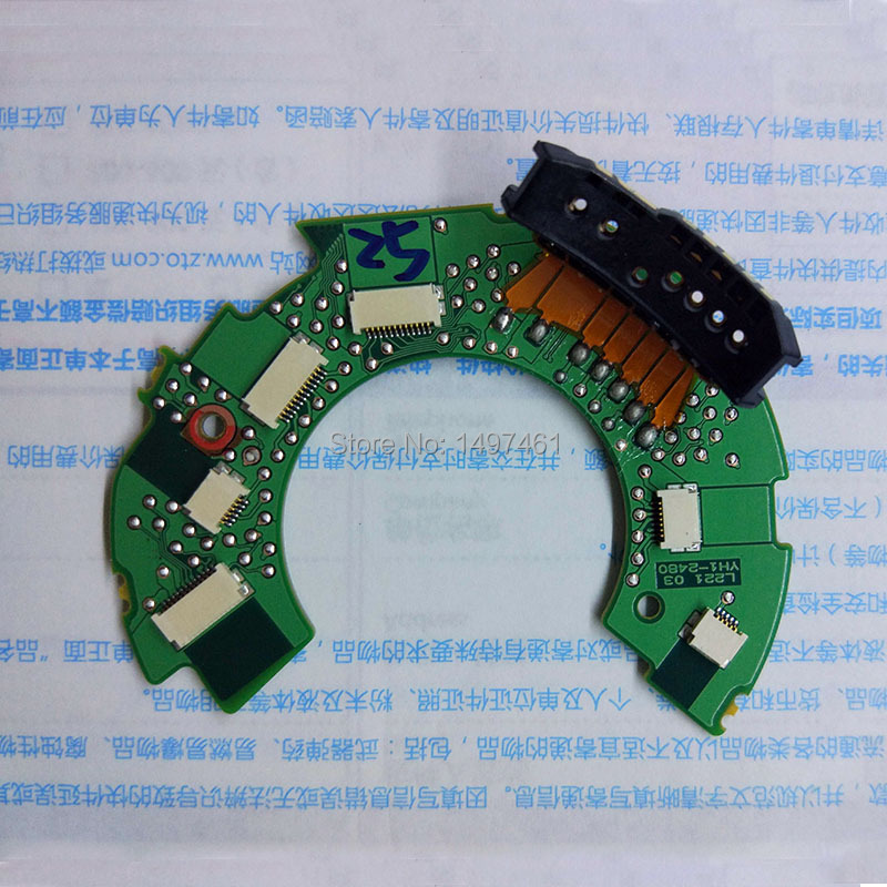 New Main Circuit board motherboard PCB repair parts for Canon EF-S 18-200mm f/3.5-5.6 IS lens new motherboard main circuit board pcb repair parts for canon ef s 10 18mm f 4 5 5 6 is stm lens