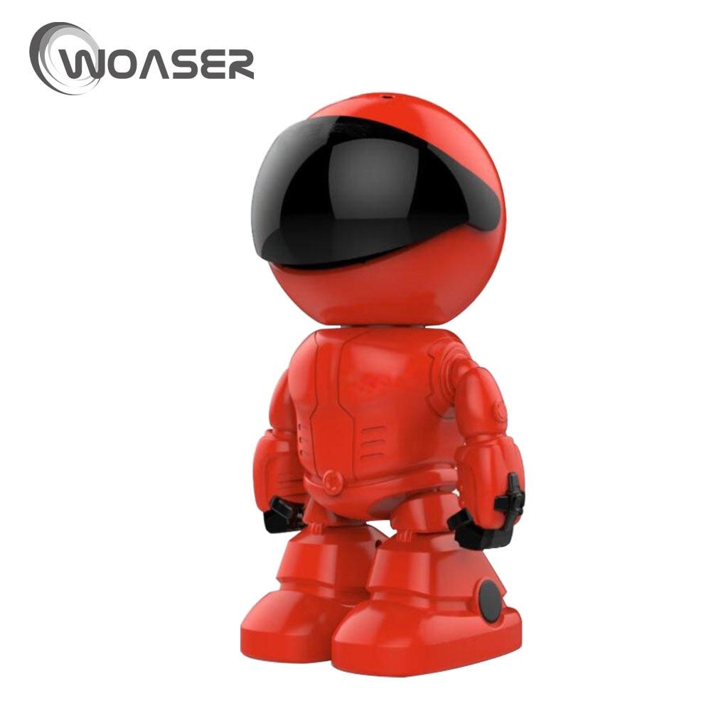 купить WOASER 1.3MP WIFI IP Camera Wireless IR-Cut Night Vision Two Way Audio HD 720P PTZ CCTV Surveillance Camera P2P Cloud Mobile APP по цене 3924.14 рублей
