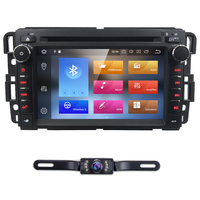 2 Din Car radio Android 8.0 Car DVD Player for GMC Yukon Acadia Denali HUMMER Chevrolet Express equinox Tahoe Enclave4GB Wifi BT