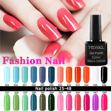 132 Colors Gel Nail Polish LED UV Gel Long-lasting Soak-off Gel Varnishes Beauty Gel Lacquer Nails Polish 10ML-MDSKL