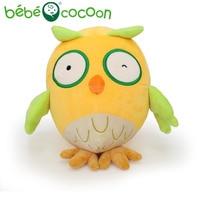Bebecocoon Kawaii Original Design Stuffed Plush Toy Doll 20cm Multicolor Owl Baby For Kids Boys Girls