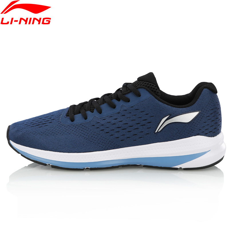 Li Ning Men REACTOR Cushion Running Shoes Wearable Anti Slippery LiNing Light Weight Sport Shoes Sneakers