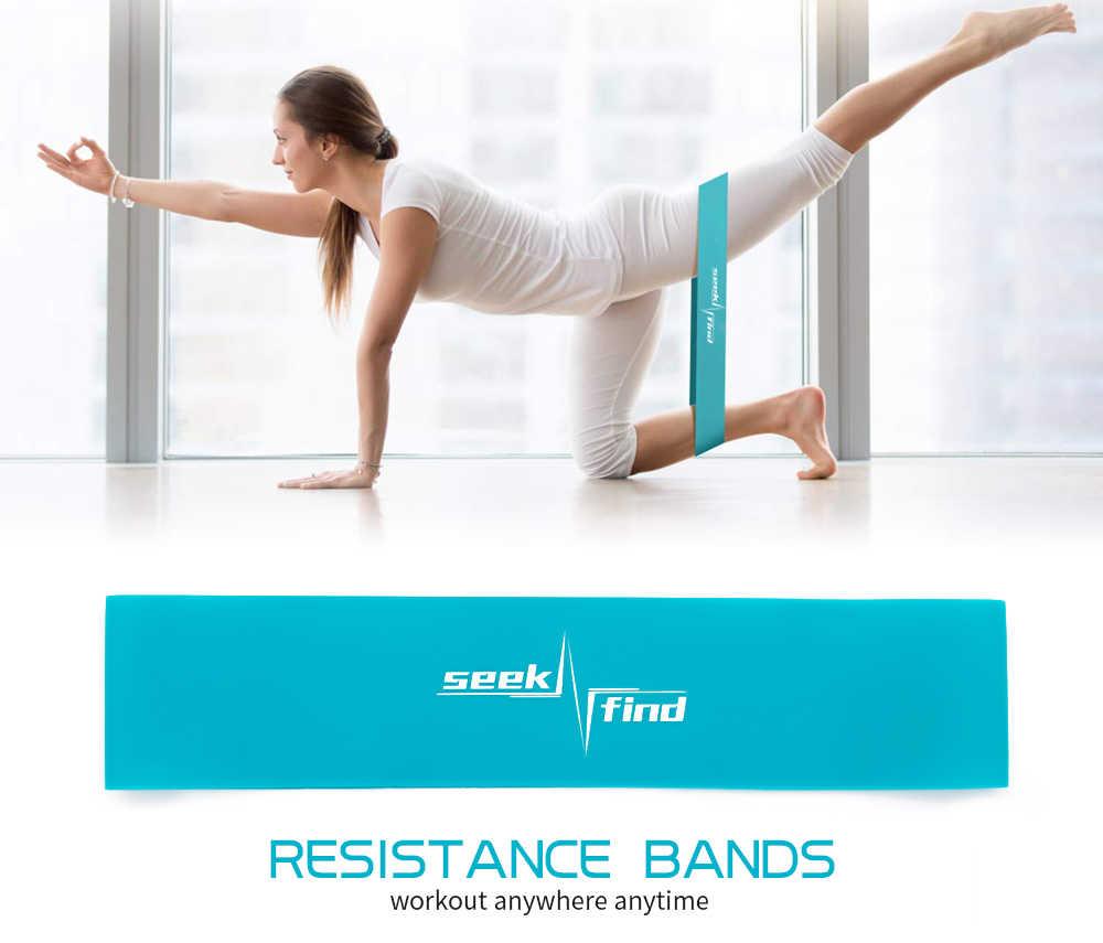 Joga pętle do ćwiczeń oporowych elastyczne Fitness gumy Expander opaski na zewnątrz domu ćwiczenia treningowe sprzęt treningowy botki opaski