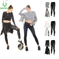 Top Quality SPT Summer Woman Sport Suits Sport Clothing Woman Sportswear Fitness Running Quick Dry Yoga