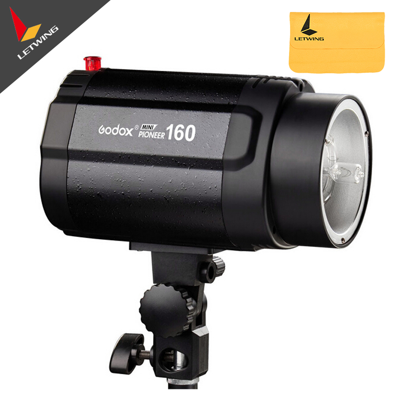 110V GODOX 160WS 160W Pro Photography Photo Studio Flash Strobe Lighting Lamp Head