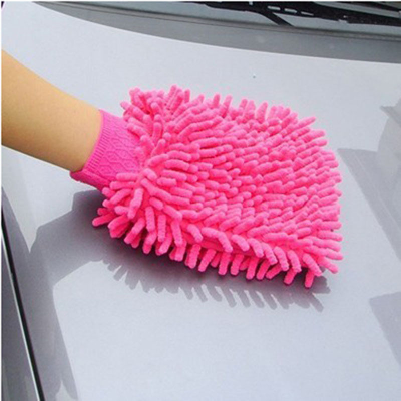 Microfiber Cloth Glove Price: Super Mitt Microfiber Car Window Washing Home Cleaning