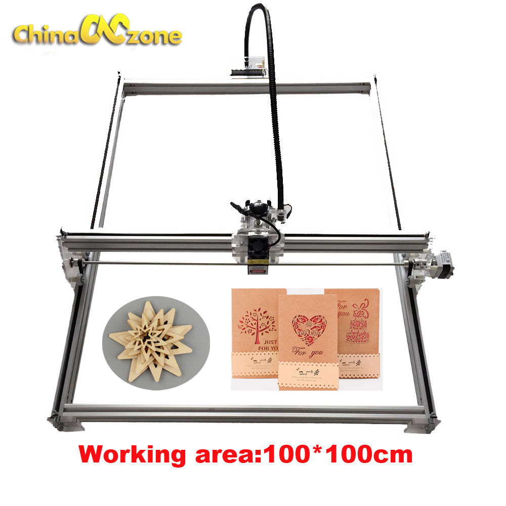 15w laser cutting machine TTL PMW control 1 1m big area 5500mw laser engraving machine 2