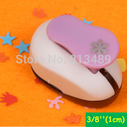 3/8'' 1cm Snowflake Punch Scrapbooking Punches Craft Perfurador Paper Punch For Kids Furador Diy Puncher W31712
