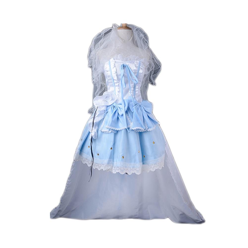 Macross F Cosplay Queen Sheryl Nome Costume Women's Dress Long Skirt Wedding Gown Rode Evening Dress стоимость