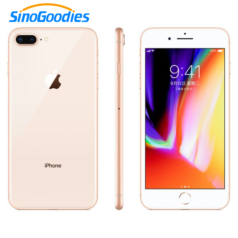 Original Apple Used Iphone 8 / Iphone 8 Plus Smartphone IOS 2GB / 3GB RAM 64/256GB ROM 12MP Fingerprint 2691mAh LTE Mobile Phone