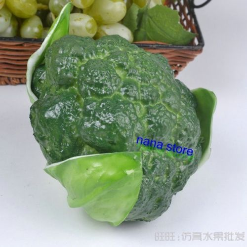 2015 Rushed New Decoracion Boda Artificial Flower Artificial Broccoli Bitter Gourd Cucumber Chinese Cabbage Faux Vegetable Food